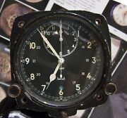 Vintage And03954 Jaeger Lecoultre V308 British Raf Military Aircraft Clock Working