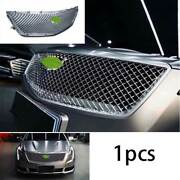 For 2018-2020 Cadillac Xts Abs Silver Front V-sports Grille Grill Cover Trim 1x