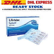3 X Artelac Splash 0.5ml X 30and039s Fast And Natural Hydration Eye Drops Express