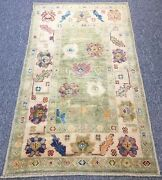 Turkish Oushak Rug Soft Pastel Colours Made In 19th Century Style