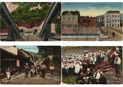 Bosnia Collection Lot Of Postally Used 350 Vintage Postcards Pre-1940 L3156