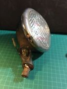 Vintage Kd 866 Fog Lamp Ratrod Chevy Ford Truck Saef 69 Not Tested With Bracket