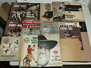 Lot Of Sports Illustrated 1950s 1960s Baseball Football Phillies Presents Books