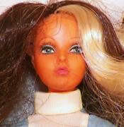 Ideal Tuesday Taylor Doll Change Hair Brown Blonde Articulated 1975 Vintage