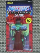 Masters Of The Universe Evil Seed Action Figure Moc Super 7 Vintage Series