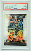 2018-19 Trae Young Panini Select 45 White Prizm Rookie 101/149 Psa 9 Mint Rc