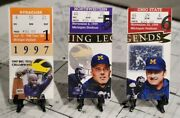 Tom Brady Ticket Lot Rare W/first Td Pass And Only Start Win Vs Osu Please Read