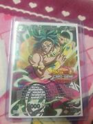 Ss Broly Unforeseen Force 2020 Top 16 Placer Foil Stamp