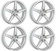 4 Alloy Wheels Oxigin 21 Oxflow 10.5x21 Et30 5x112 Sil For Bentley Continental