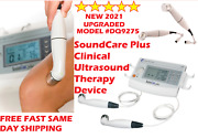 2021 Roscoe Soundcare Plus, Ultrasound Unit With Two Sound Heads, Model Dq9275