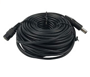 Vanxse - Cctv 50ft 15m 2.1x5.5mm Dc 12v Power Extension Cable For Cctv Cameras