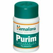 5 Pc X 60 Tab Himalaya Herbal Purim Tablets Therapy For Healthy Skin - Free Ship