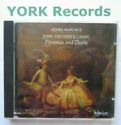 Lampe - Pyramus And Thisbe / Flute Concerto Holman Opera Restor'd - Ex Cd Hyperion