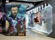 Thor 1/6 Figure Movie Masterpiece Avengers Infinity War Limited Hot Toys Jp