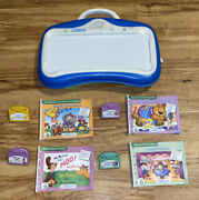 Leap Frog Little Touch Leap Pad Learning System 4 Books And Cartridges -c3