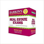 Real Estate Exam Flash Cards By Jack P. Friedman Ph.d. Cards Test Flash Cards