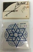 Dollhouse Miniatures By Barb Star Of David Jewish Star Plastic Wall Hanging Tile