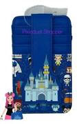 Disney Castle Park Icons Loungefly Credit Card Wallet