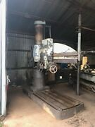 Used 5andrsquo X 15 Column Radial Arm Drill Press American Hole Wizard
