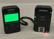 Yongnuo Yn622c-tx Wireless Transmitter And 1 Receiver For Canon Flashes Ships Fast