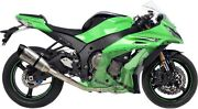 Leo Vince Sbk Carbon Fiber Stainless Steel Exhaust Factory S For Kawasaki Zx-10r