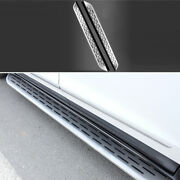 Side Step Running Board Nerf Bar Protect Aluminum Silver For Cadillac Xt6 19-20