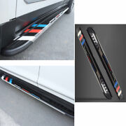 Sports Side Step Running Board Nerf Bar Protect Black For Cadillac Xt6 2019-2020