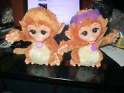 2 - Hasbro Furreal Friends Baby Cuddles My Giggly Monkey Pet Plush Toy 2013