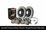 Stoptech Sport Axle Pack Slotted Rotor Front Brake Kit For Subaru Wrx 2008 Ej255