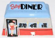 Betty Boop - 2004 Betty's Diner Cookie Jar - Nj Croce Co Good Condition