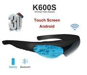 K6 Android 3d Touch Screen Bluetooth Smart Video Glasses-fpv All In1+32g Tf Card