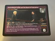 According To Linda And The Board Of Executives - Wwe Raw Deal Insurrextion Rare
