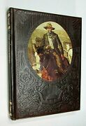 1974 The Gunfighters Old West Series Time Life Book Vintage Faux Leather Free Sh