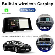 8-core Android Car Gps Navigation Video Wireless Carplay For Bmw 6 Series 2010