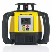 Leica Rugby 680 2600-ft Self Leveling Dual Grade Laser With Re 140 Receiver