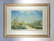 Sir William Russell Flint Signed Limited Edition Print St. Malo August 1939