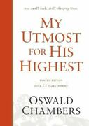 My Utmost For His Highest Classic Language Hardcover