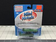 Mini Metals Classic Metal Works N-scale Fh Factory Green 32andrsquo Flatbed Trailer