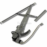 92-95 Civic 2dr Coupe And Hb Power Window Lift Regulator And Motor Driver Left Front