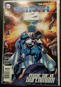 Earth 2 25 New 52 Newsstand First Appearance Val Zod As Superman Htf