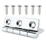 Stainless Steel Marine Boat Pull Deck Hinges Spring Lift Handle Hatch Hardware