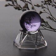 Acrylic Display Stand Base For Crystal Ball Sphere Globe Stone Pedestal Base