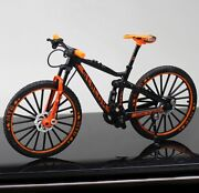 New Diecast Metal Bicycle Model Toys 110 Dh Down Hill Dual Slalom Mountain Bike