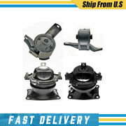 Anchor Engine Mount At Mount 4 Pcs For 2011-2013 Honda Odyssey 3.5l 5 Speed_xj