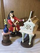 Wdcc Peter Pan Captain Hook And Tinkerbell Pvc Figure