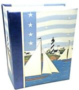Photo Album Warren Kimble Sailboat And Lighthouse Picture Holds 120 Pictures 6
