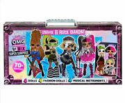 Lol Surprise Omg Remix With 70+ Surprises And 4 Fashion Dolls Girls Doll Toy New