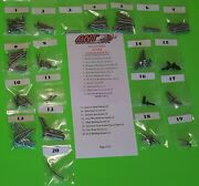 1964 Ford Galaxie Interior And Exterior Screw Kits 164 Pcs