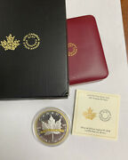 2018 10 .999 Silver Gold Plate Canada Maple 30 Years