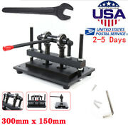 300x150mm Manual Leather Cutting Machine Die Cut And Leather Embossing Machine Usa